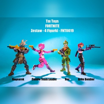 FORTNITE Figurki 4-pak SQUAD MODE TM Toys FNT0019