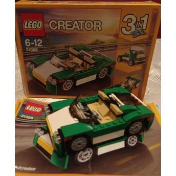LEGO CREATOR 3w1 31056 Zielony krążownik