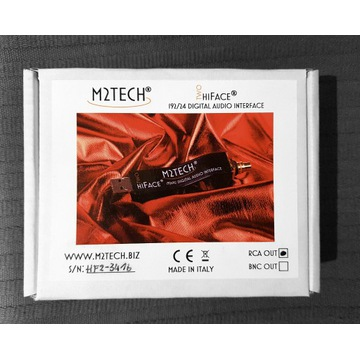 M2Tech Two HiFace - konwerter interf USB - Coaxial