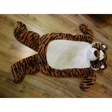 Pluszowy tygrys - maskotka - dywanik