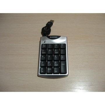 Klawiatura numeryczna Silwer Crest na USB.