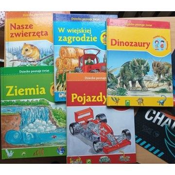 Dziecko poznaje świat - zestaw 5 książek
