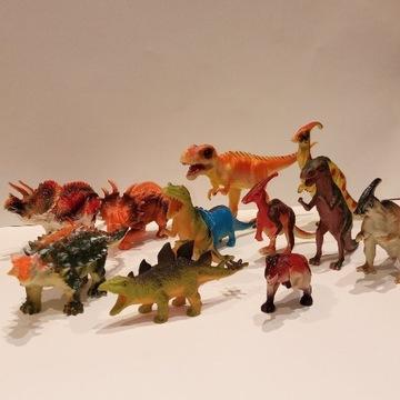 Figurki dinozaury 12 sztuk