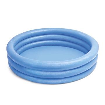 Basen dmuchany niebieski 114x25