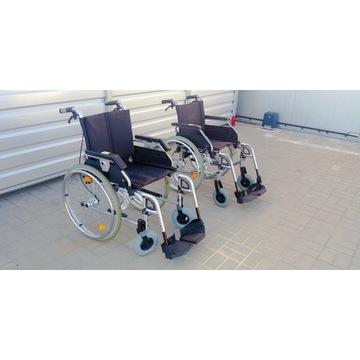 Wózek inwalidzki składany różne rozmiary zadbane