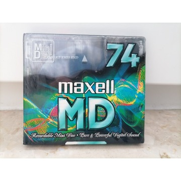Mini Disc maxell MD 74 Nowy