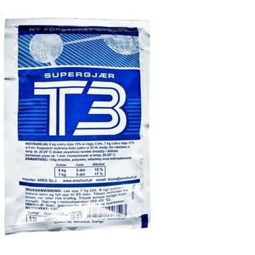 Drożdże T3 gorzelnicze mocne Promocja
