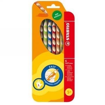 Kredki STABILO Easycolors 6 kol. dla leworęcznych