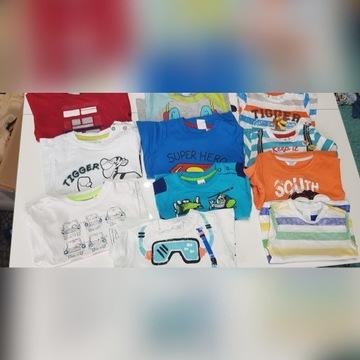 Koszulki r.74 cool club smyk Wójcik pepco h&m c&a