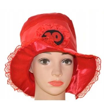 Kapelusz 30 kapelusz urodzinowy