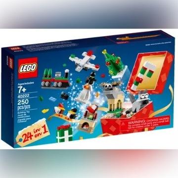 Świąteczne budowanie z LEGO - 40222 nowy