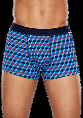ffd56c763bdbcd Majtki męskie Happy Socks Trunk kolorowe r M 7539138201 - Allegro.pl