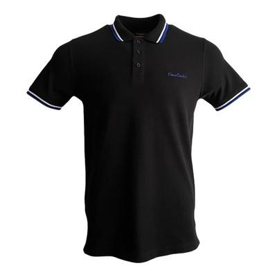 Koszulka męska polo Pierre Cardin czarna r. L
