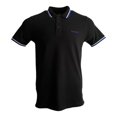 Koszulka męska polo Pierre Cardin czarna r. XL