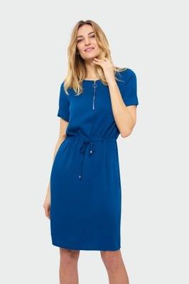 7426b575de Sukienka niebieska M - 7640370405 - oficjalne archiwum allegro