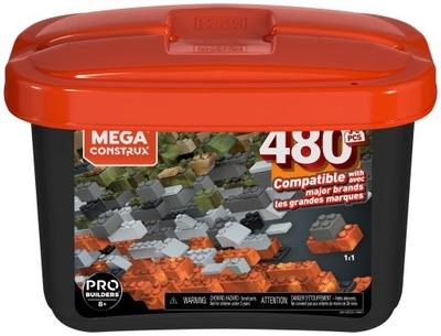 Mega Bloks Pojemnik z klockami 480 el. GJD25