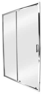 OUTLET Drzwi prysznicowe przesuwne Bravo 120