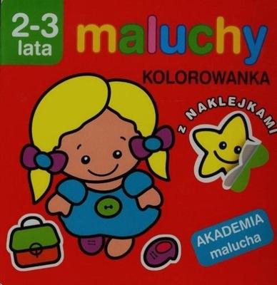 Akademia malucha - Maluchy. Kolorowanka
