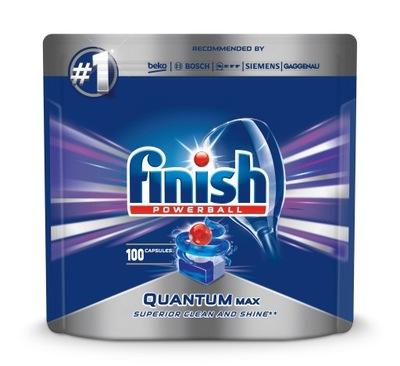 Финиш таблетки для Посудомоечные машины Quantum Max 100 штук .