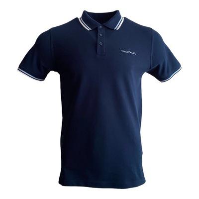 Koszulka męska polo Pierre Cardin granatowa r. XXL