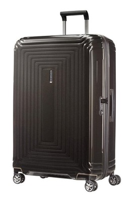 SAMSONITE SPINNER 55/20 MET.BLACK KABINÓWKA
