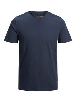 JJEORGANIC Koszulka Jack And Jones granatowy r XL