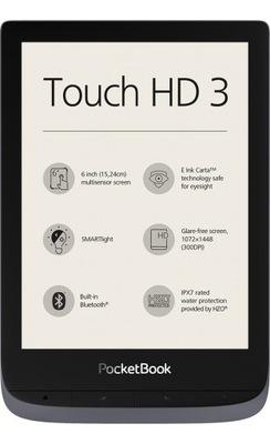 Czytnik e-booków PocketBook Touch HD 3 Wi-Fi szary
