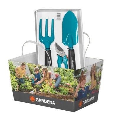 Zestaw narzędzi ogrodowych Gardena