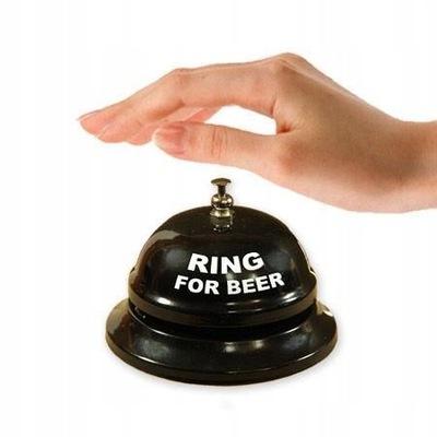 ?????????? колокольчик пиво Черный RING FOR BEER