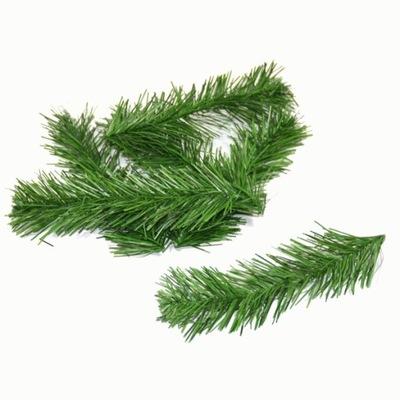 Ветка Сосны одна 19cm комплект 6шт зеленый