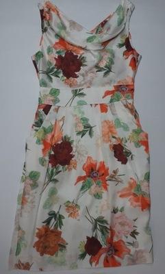 f1dcee0b0f7d24 OKAZJA TANIO! Sukienka damska pudrowy róż 34/XS - 7228354741 ...