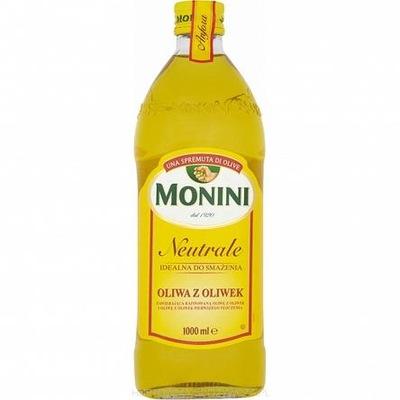 Monini instagram масло Оливкового Нейтрали 1л
