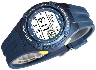 Zegarek Dla Chłopca XONIX 10ATM z Czasem Światowym