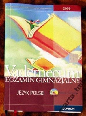 Język polski. Vademecum. Egzamin gimnazjalny