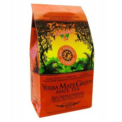 YERBA Mate green Mas Energia Guarana 400 г 95%