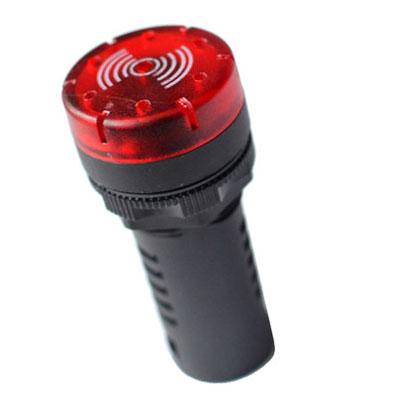 LED buzerem červená 24V AC/DC AD16