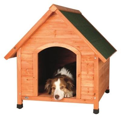 Drewniana buda dla psa (L). 101/83/87cm (TX-39532)