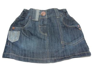 NEXT Jeansowa Spódniczka  roz 74
