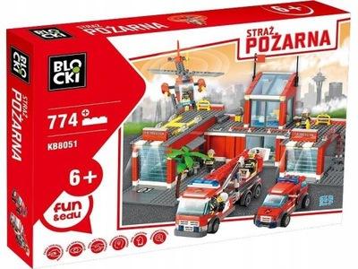 Podložky Blocki MOJE MESTO 774 požiaru fire truck