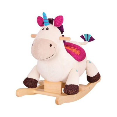 B. Hračky Kôň hojdací Kôň Ružový Jednorožec