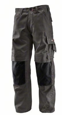 Bosch Nohavice s vreckami, šedá SWC 18 82C46