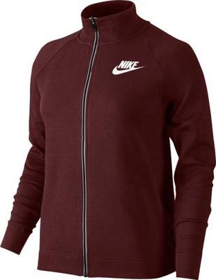 a877fbee29bf73 Bluza damska Nike czerwona rozpinana L na 176cm - 7150003916 ...