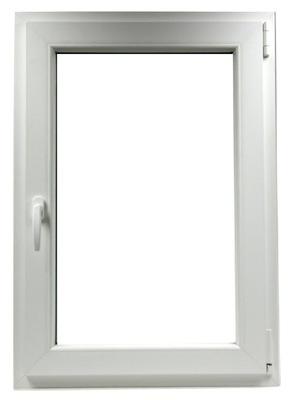 PVC OKIEN: 80 X 80 / 800 x 800 mm SK BIELA
