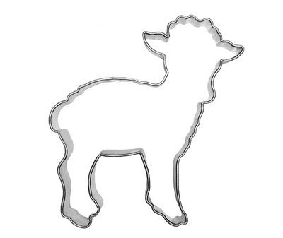 Прессформа АГНЕЦ 6 ,5 см - овен, барашка, овечки