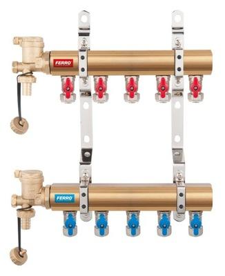Dávkovač 10 cestný-ventil s N-RO10S Železných