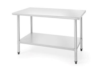 стол рабочий из нержавеющей стали 1200x600x(H)850