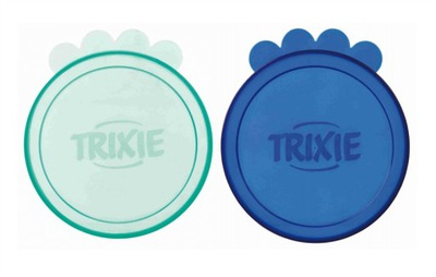 Trixie pokrywki na DUŻĄ puszkę 10,6cm 2szt.
