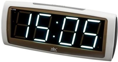 Nowoczesny Budzik Zegarek Elektroniczny XONIX
