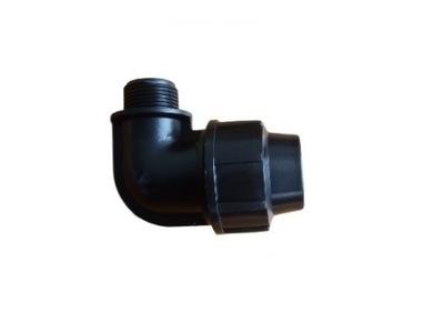 Колено ПЭ 25x1/2 GZ Труба для поливе разъем