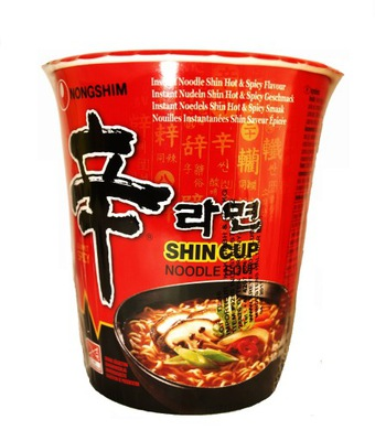 суп суп Рамен Шин Чашка кружка острая 68g